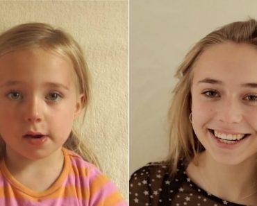 Pai Filmou a Transformação Da Filha Desde o Nascimento Até Aos 18 Anos 3