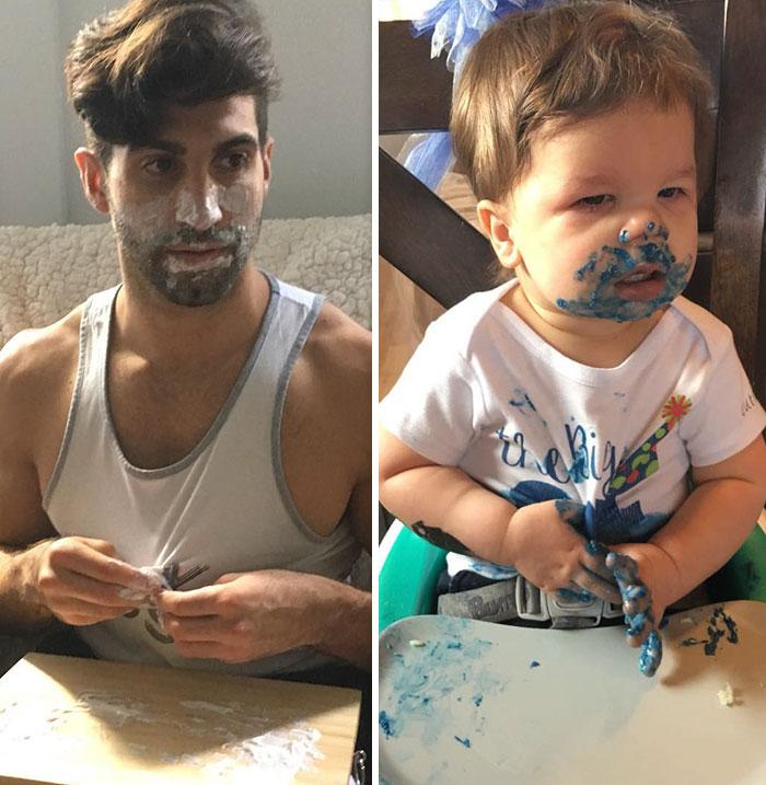 Bebé Recria Fotos Do Tio, Que é Modelo, e Derrete o Instagram 7