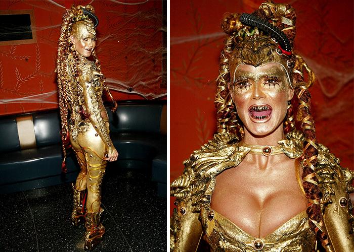 18 Fantasias Que Provam Que Ninguém Ama Mais o Halloween Do Que Heidi Klum 4