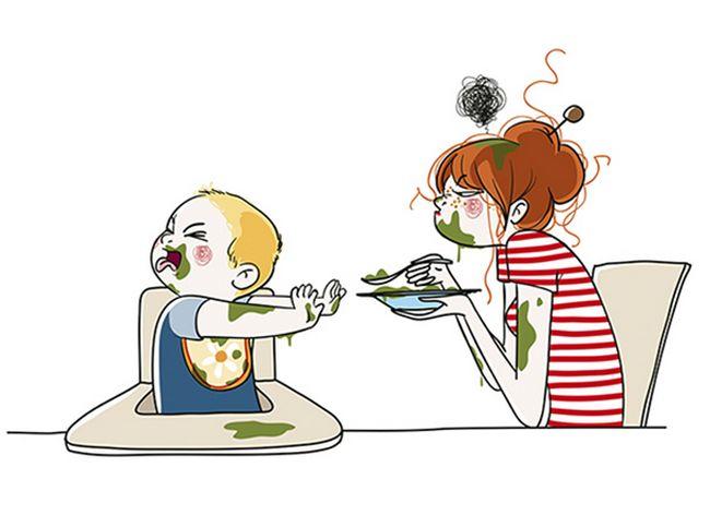 22 Ilustrações Divertidas Que Mostram o Que Realmente é Ser Mãe 10