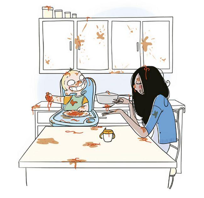 22 Ilustrações Divertidas Que Mostram o Que Realmente é Ser Mãe 2