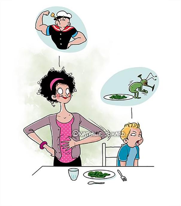 22 Ilustrações Divertidas Que Mostram o Que Realmente é Ser Mãe 21