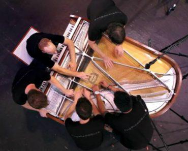 10 Mãos, 1 Piano e Um Momento Musical Verdadeiramente Maravilhoso 3