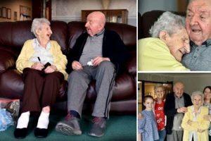 Mulher De 98 Anos Muda-se Para Um Lar... Mas Para Cuidar Do Filho De 80 Anos! 8