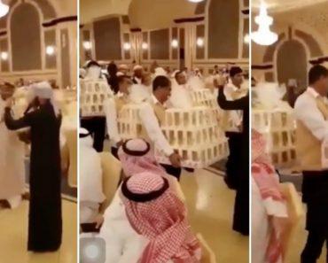 Em casamento Na Arábia Saudita Convidados Recebem iPhone 8 Como Lembrança 9