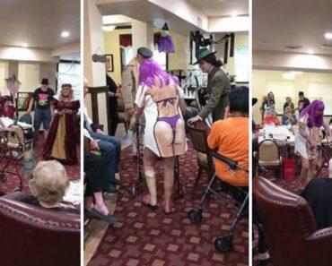 Senhora De 84 Anos Faz Sucesso Ao Desfilar Com o Seu Improvável Disfarce De Halloween 3