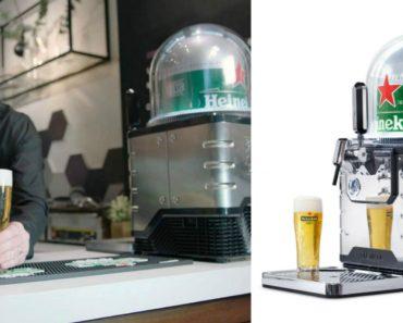 """Heineken Lança """"Nespresso De Cerveja"""" Que Pode Servir 8 Litros Por Cápsula 8"""