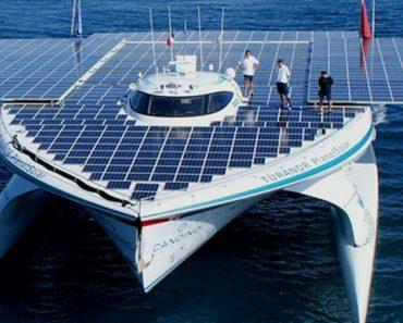 Com 809 Painéis, Este é o Maior Navio Do Mundo Movido a Energia Solar 4