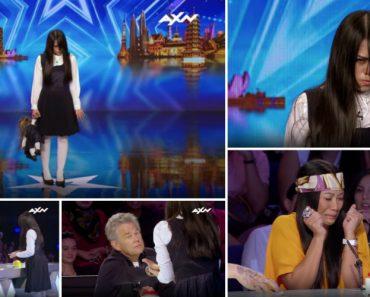Jovem Deixa Jurados e Público Cheios De Medo Com Atuação Fenomenal Em Programa De Talentos 12