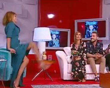 Liliana Campos Caiu Em Direto Na TV, e o Vídeo Já é Viral 8