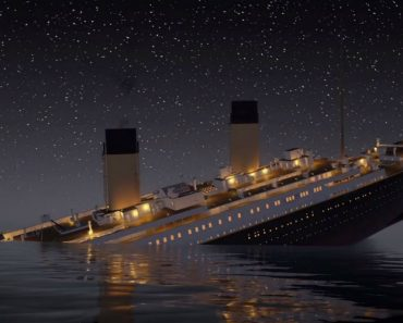 Veja Como Se Afunda o Titanic Em Tempo Real 2