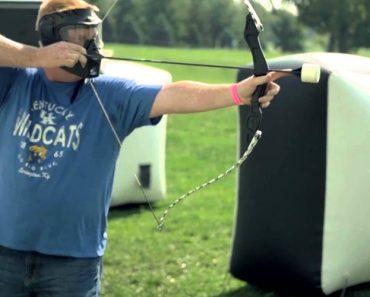 Archery Tag: Uma Espécie De Paintball Mas Com Arco e Flecha 4