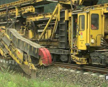 Máquina Constrói Caminho Ferroviário De Forma Autónoma 6