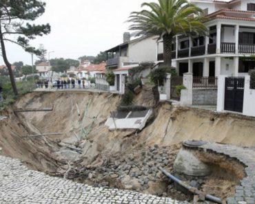 Cratera Ameaça Habitações Em São Pedro De Moel 6