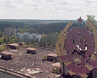 """Imagens Únicas Captadas Por Um Drone Da """"Cidade-Fantasma"""" De Chernobyl 4"""