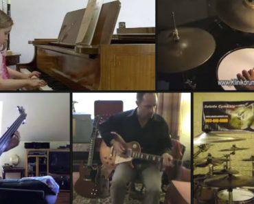 Youtuber Edita 23 Vídeos De Músicos Amadores e Faz Uma Obra De Arte 6