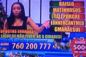 """Apresentadora Do Super Quiz Da TVI """"Passa-se"""" Com a Produção Em Direto 6"""