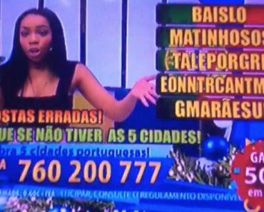 """Apresentadora Do Super Quiz Da TVI """"Passa-se"""" Com a Produção Em Direto 8"""