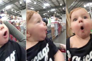 Bebé Tem a Reação Natalícia Mais Amorosa Que Vai Ver Hoje 10