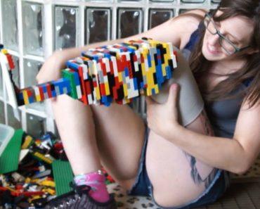 Jovem Amputada Cria a Sua Própria Prótese Em LEGO 4