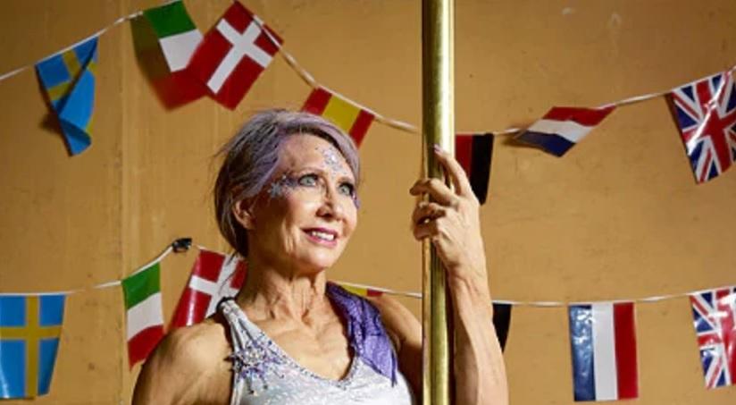 Começou Pole Dance Aos 59 Anos, Agora Aos 67 é 5 Vezes Campeã Do Mundo 1