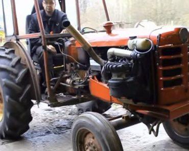 Agricultor Sueco Coloca Motor Turbo Da Volvo No Seu Trator, o Resultado é Impressionante 8