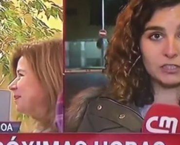"""Jornalista Da CMTV Sofre """"Bloqueio Cerebral"""" Durante o Direto 1"""