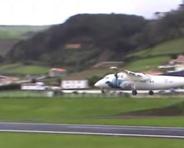 Ventos Cruzados Nos Açores Obrigam a Abortar Aterragem Num Voo Da SATA 9