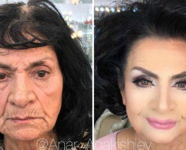Talentoso Profissional Faz Mulheres Parecerem Dezenas De Anos Mais Jovens Usando Maquiagem 5