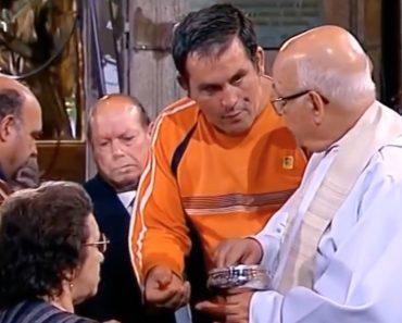 Emplastro Foi à Missa e Tentou Furar a Fila Para Espanto Do Padre 2