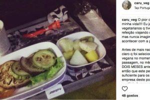 Passageira Incrédula Com Refeição Vegetariana Servida Em Voo Da TAP 10
