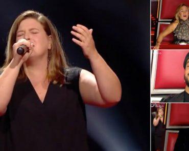 Portuguesa Emociona a Cantar Fado No The Voice Na Bélgica 8
