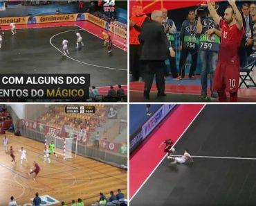 É Por Coisas Como Estas Que Ricardinho Foi Eleito Pela 5ª Vez o Melhor Do Mundo No Futsal 5