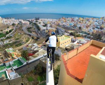 A Incrível Aventura De Um Escocês De Bicicleta Pelos Telhados Da Gran Canaria 9