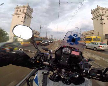 """""""Sente-se"""" Ao Volante Desta Moto De Emergência Médica Numa Viagem Alucinante 3"""