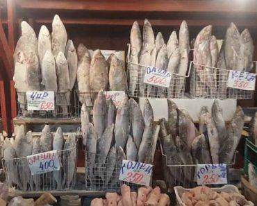 Neste Mercado, o Peixe Não Precisa De Estar Na Arca Congeladora Para Permanecer Congelado 2