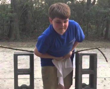 Miúdo Tenta Demonstrar Os Seus Superpoderes... Mas a Tarefa Não Está Fácil! 4