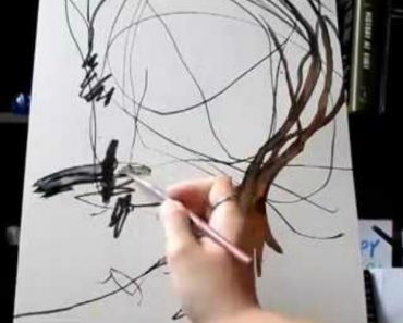 Mãe Transforma Desenho Da Sua Filha De 2 Anos Em Verdadeira Obra De Arte 6