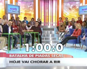 Batalha De Piadas Secas Em Direto No Você Na TV Da TVI 4
