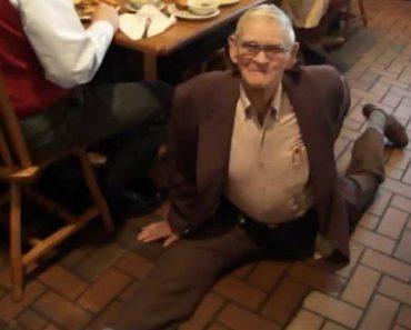 Aos 87 Anos Este Aniversariante Faz a Espargata Com Incrível Facilidade 1