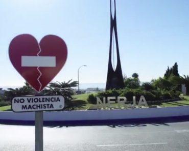 Sinais De STOP Substituídos Por Corações Contra a Violência Doméstica 3