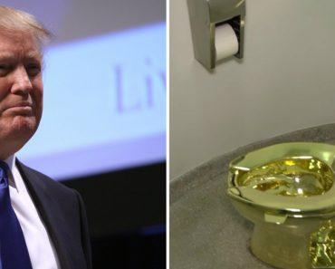 Museu Rejeita Pedido De Trump e Sugere-lhe Retrete De Ouro 5