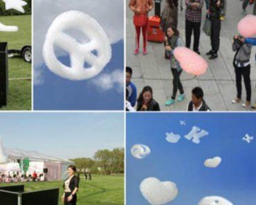 Esta Invulgar Máquina Consegue Fazer Nuvens Em Qualquer Formato 6