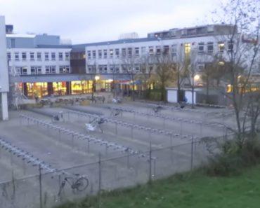Isto é o Que Acontece Em Todas As Escolas Holandesas Entre As 8 e As 8:30 4