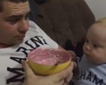 Bebé Não Suporta a Ideia De Que a Sua Comida Favorita Acabou 9