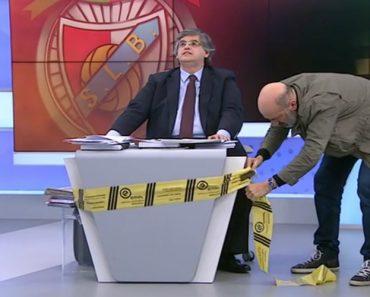 José De Pina Leva Fita Da EMEL Para Bloquear Pedro Guerra Durante Programa 2