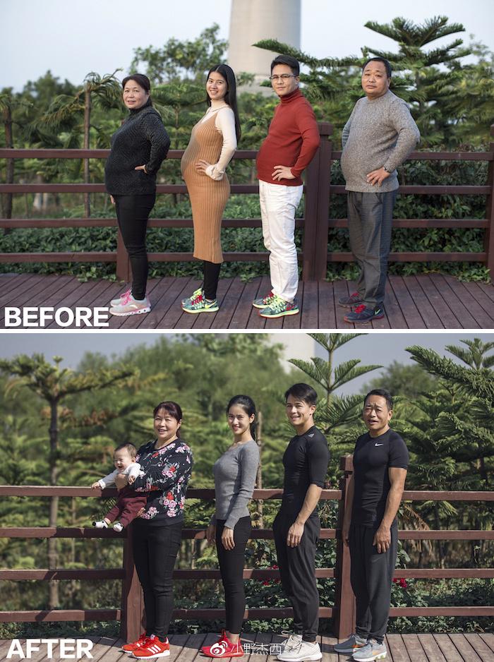 Família Propôs-se a Emagrecer Junta Em 6 Meses e o Resultado é Surpreendente 3