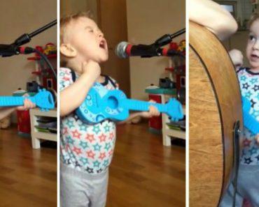 """Criança Canta a Música """"Thinking Out Loud"""" e Vira Sensação Na Internet 5"""