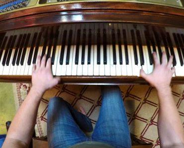 Desafiaram Um Pianista a Colocar Uma GoPro, o Resultado é Maravilhoso 7