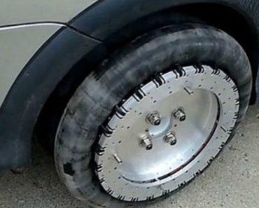 Inventor Cria Rodas Especiais Permitindo Que Os Carros Possam Andar Em Qualquer Direção 2